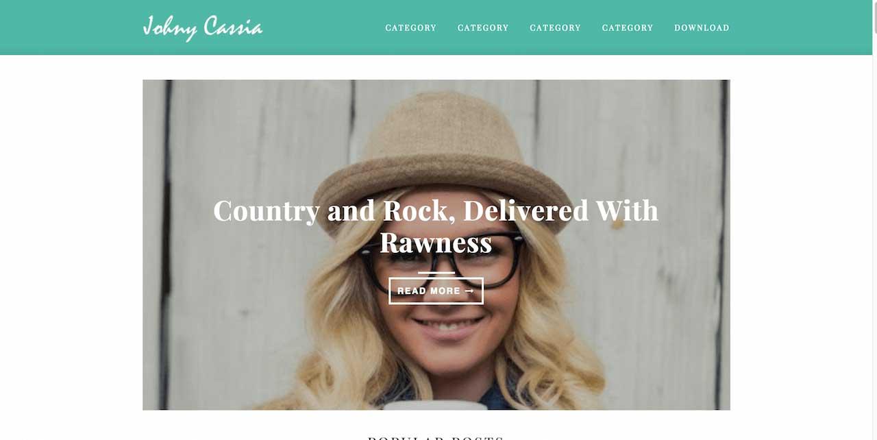 6-Johny-Cassia-Blogger-Template
