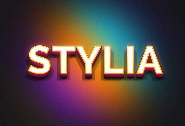 7-STYLIA-PSD-TEXT-EFFECT