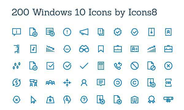 8 200 Windows 10 Icons