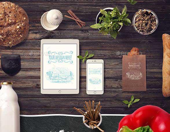 -organic-food-mockup-