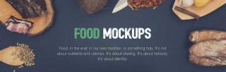 20 Premium and Free Food Mockup Creators