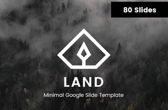 land-minimal-google-slides-template