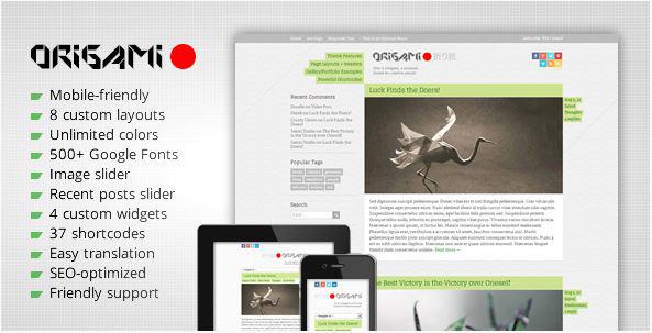 origami-minimal-responsive-wordpress-theme