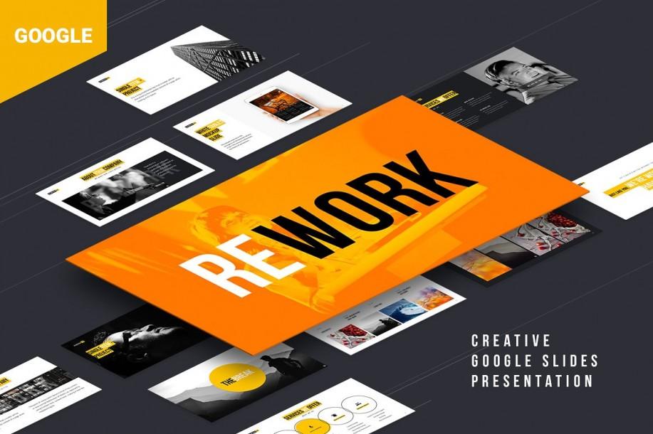 Rework Google Presentation