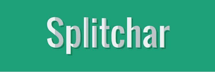 splitchar