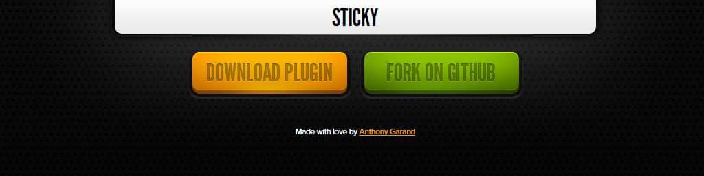sticky-plugin