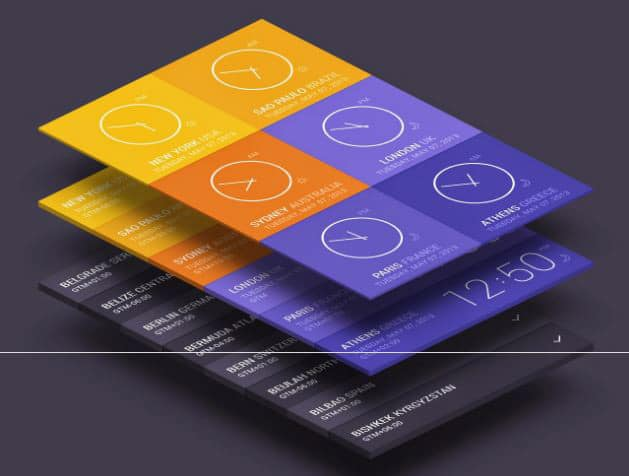 isometric-perspective-app-screen-mockup