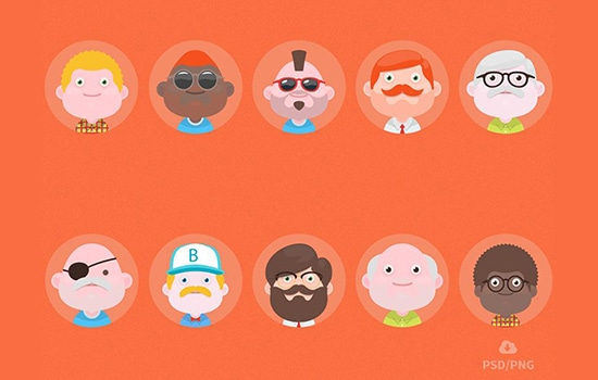 free-set-of-material-design-avatars