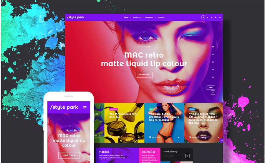 7-beauty-wordpress-theme-colors