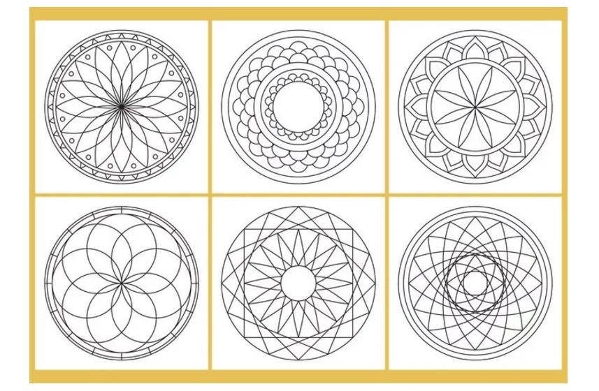 Coloring-Mandala-Page-Vectors---Download-Free-Vector-Art,-Stock-Graphics-&-Image
