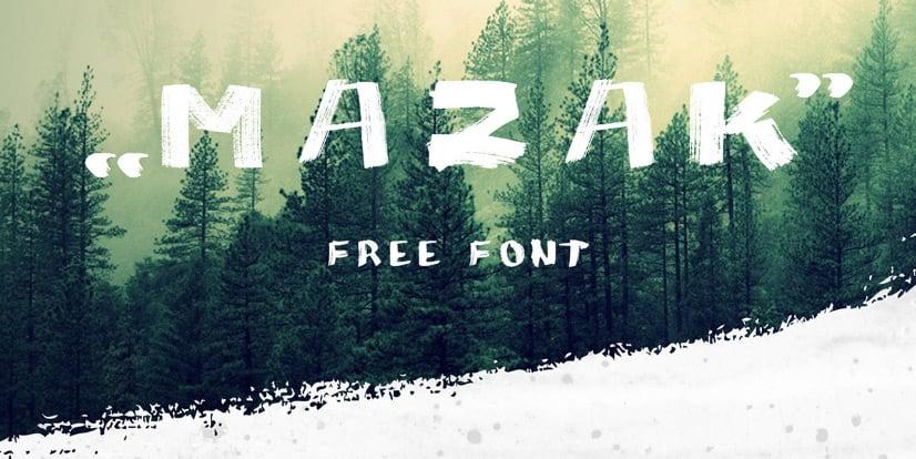 MAZAK_-free-font.-on-Behance