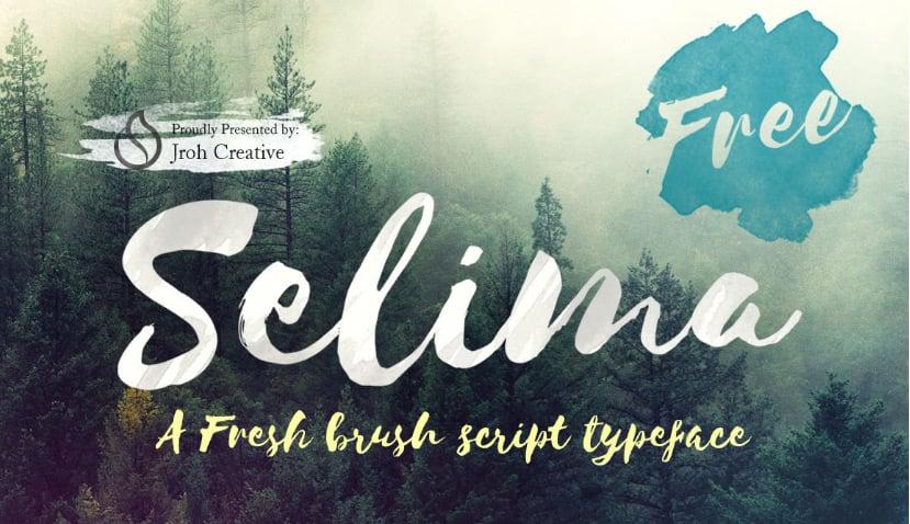 Selima-Free-Font-on-Behance