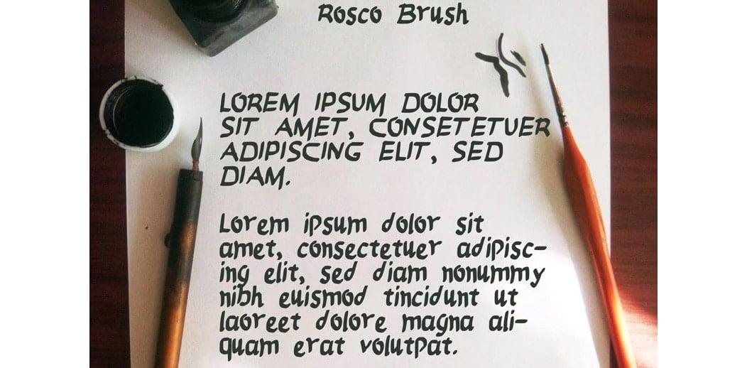FREE-Brush-Font---Rosco-Brush--Logoholique.com-- free brush fonts