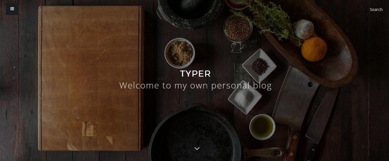 Typer - Playne Themes Demo