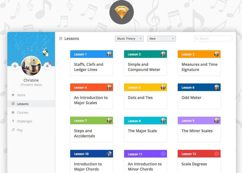 DiscoMusica - Free Web UI Kit by Tobia Crivellari - Dribbble