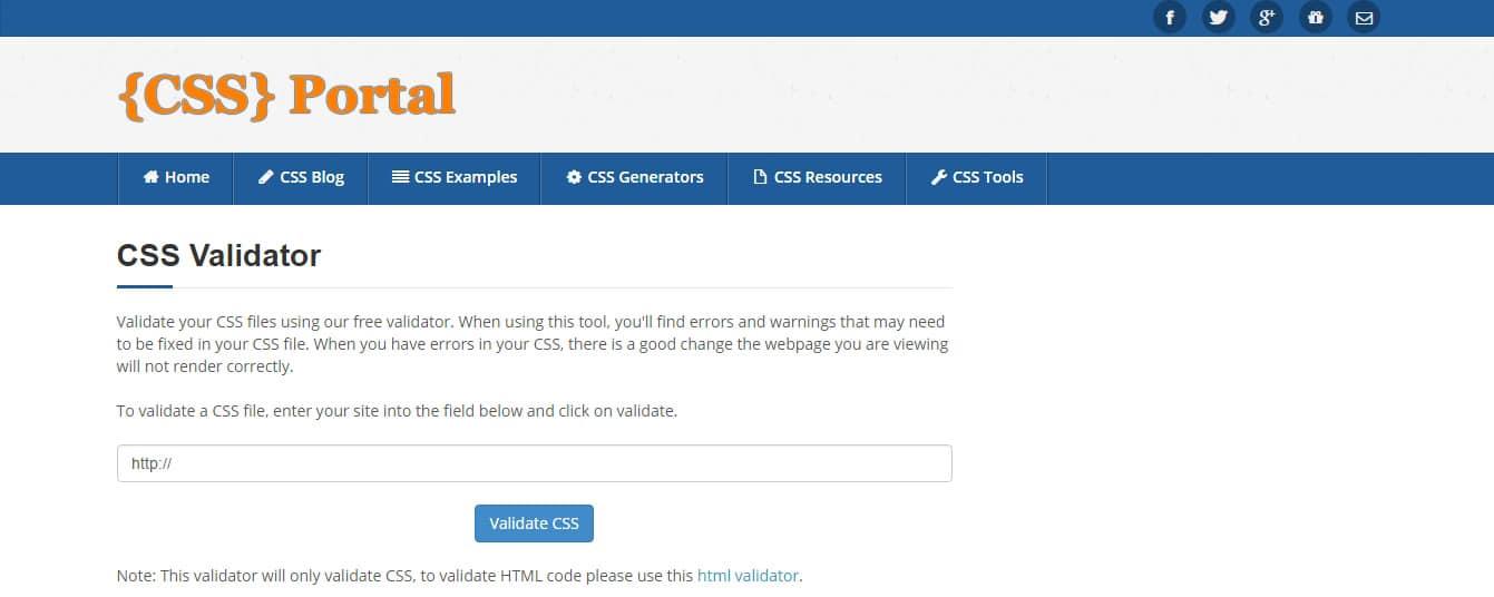 CSS-Validator---CSS-Portal