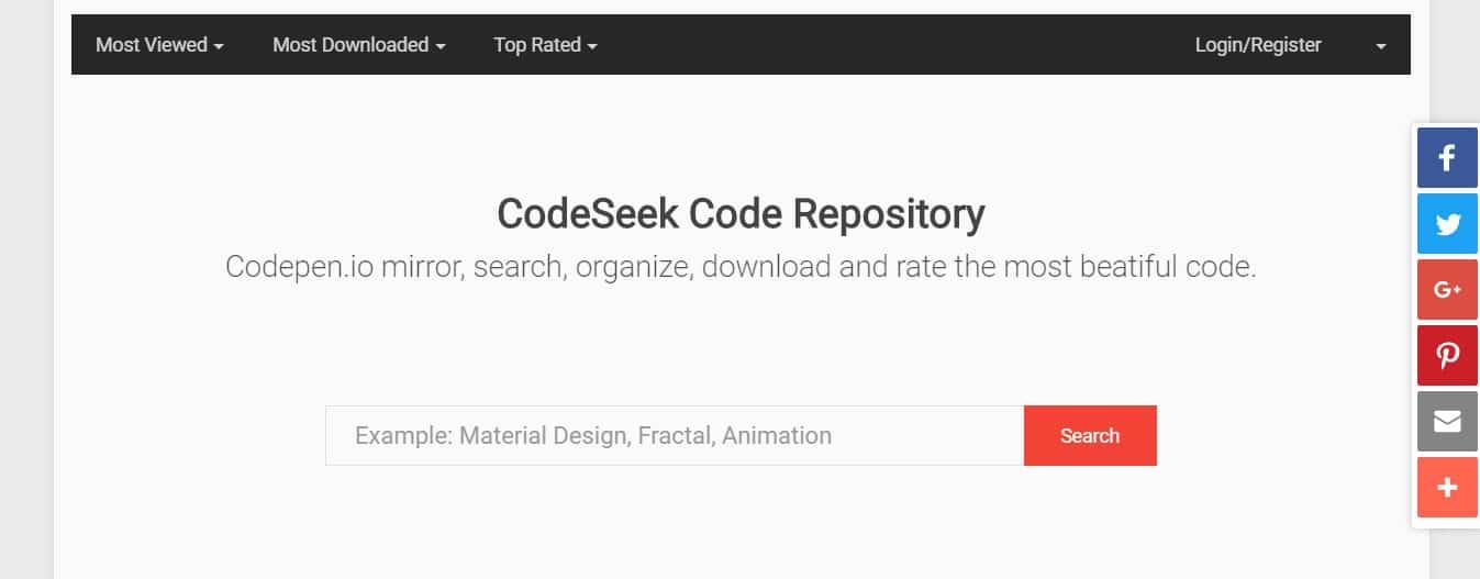 Codeseek search script