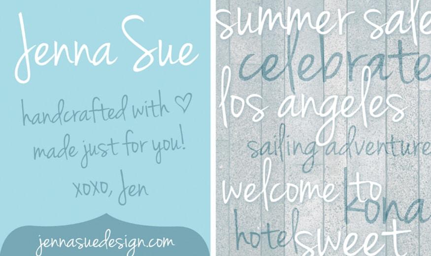 Jenna-Sue-Font-_-dafont.com