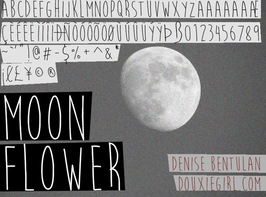 Moon-Flower-Font-_-dafont.com