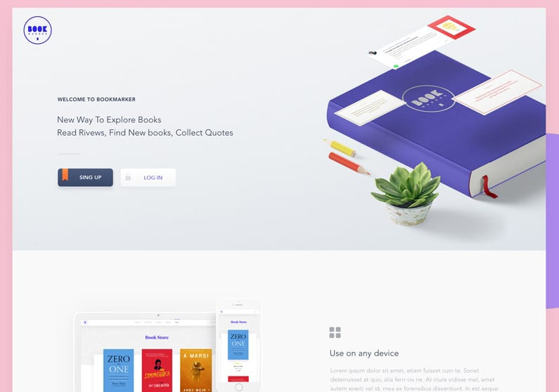 Bookmarker-Landing-by-Sasha-Martynchuk---Dribbble