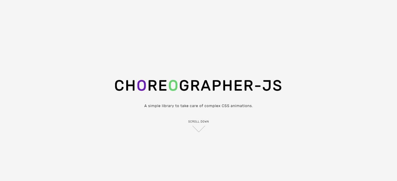 Choreographer-js