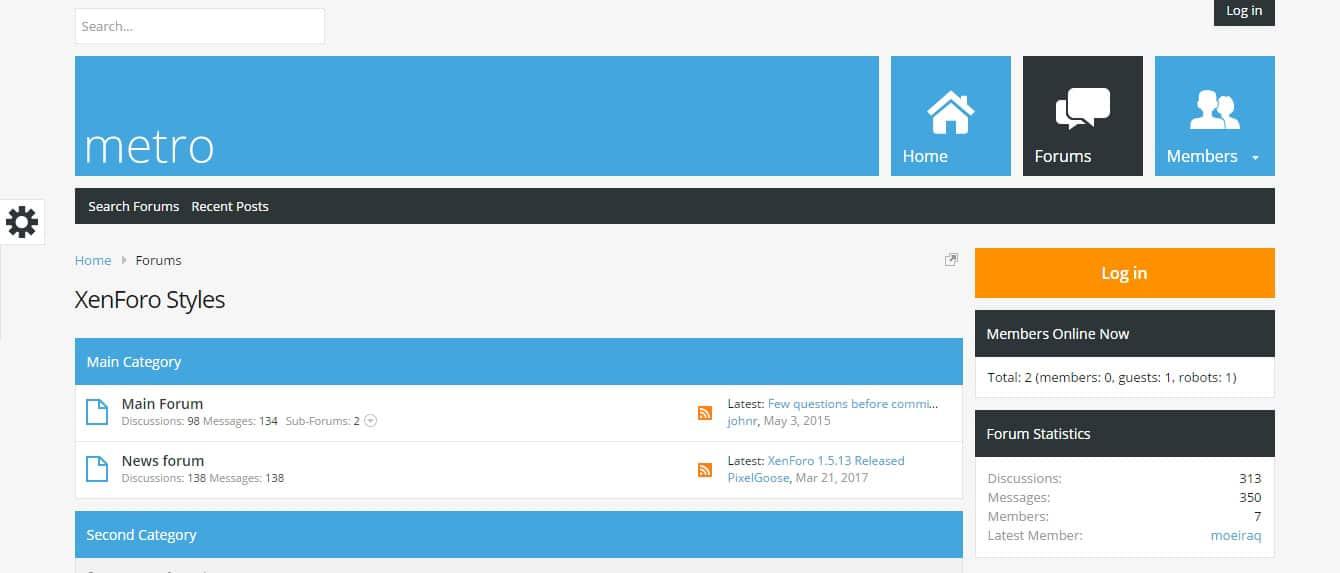 Premium themes phpBB Forum Website Templates