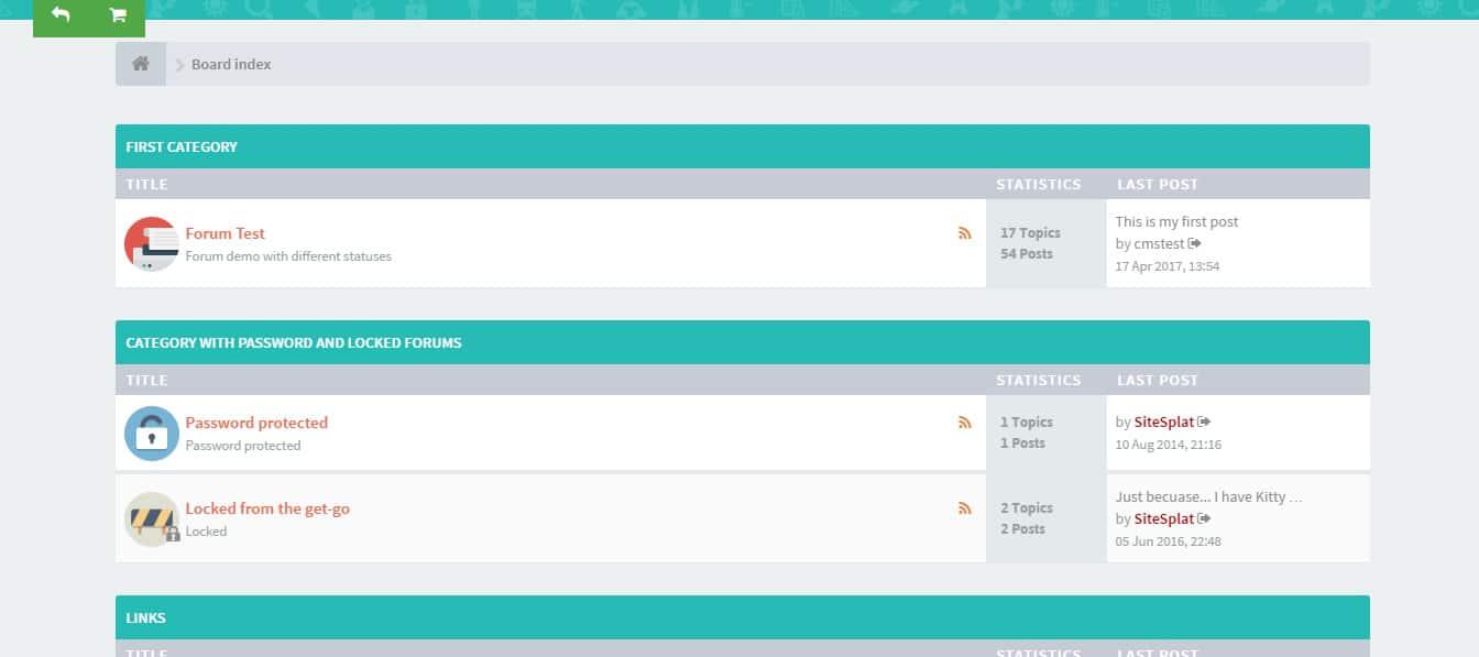 FLATBOOTS Modern Forum phpBB