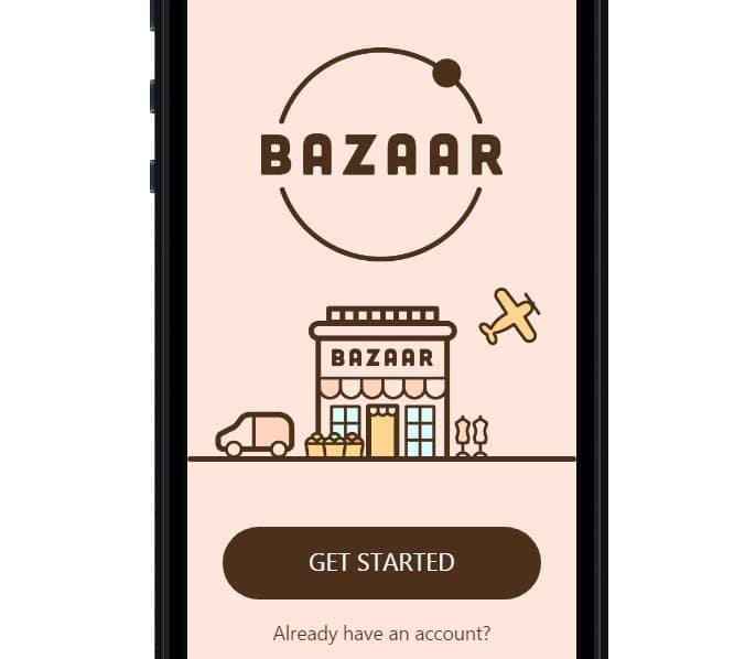 BAZAAR Ionic Multi App Template