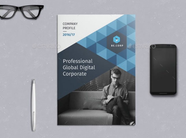 Be Company Profile Company Brochures