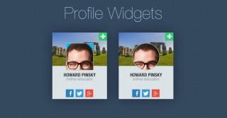 Widget Design: 20 PSD Widgets for Inspiration