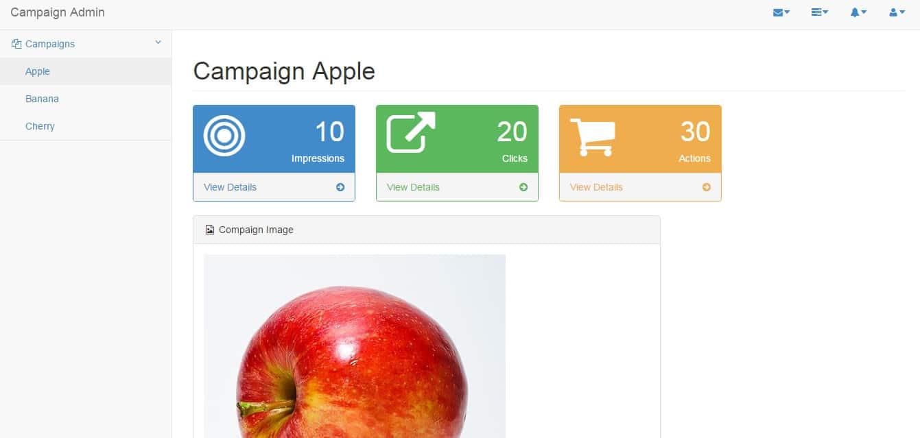 Campaign Admin ReactJS