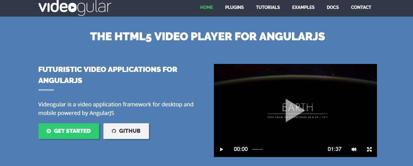 Videogular Angular JS Tool for Web Developers