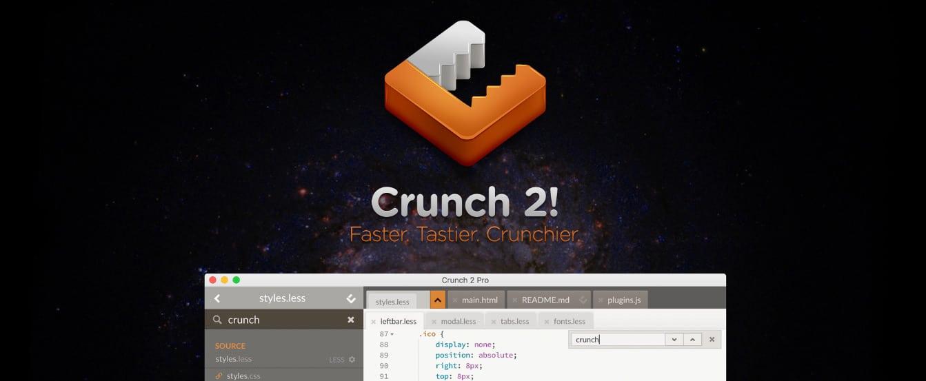 Crunch GUI Less Compiler