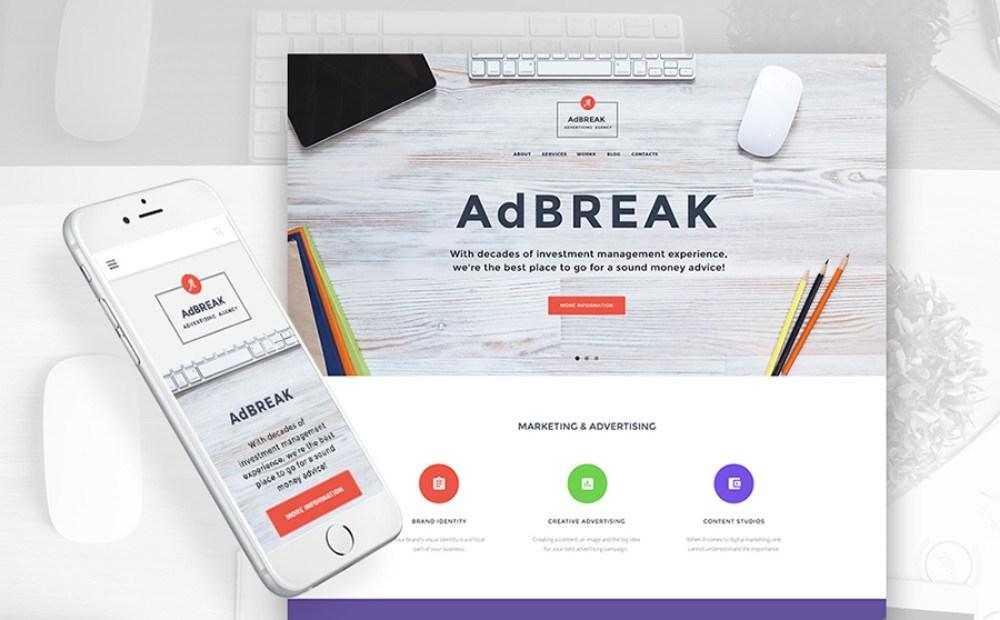 15-WordPress Theme for Advertising Company
