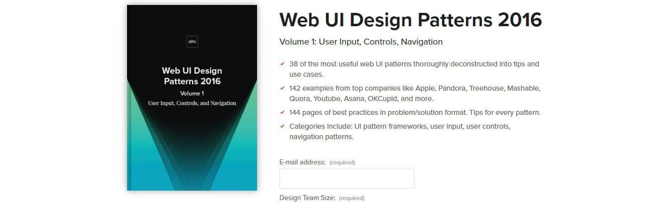 Web UI Patterns (Vol.1)