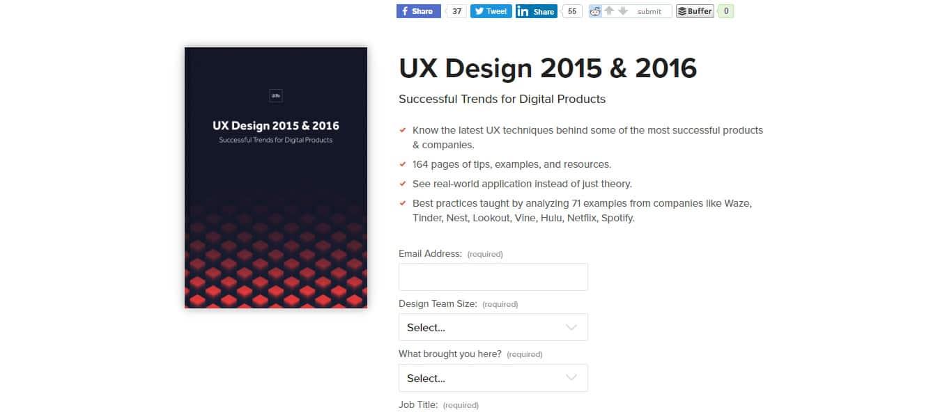UX Design Trends Free UX eBooks