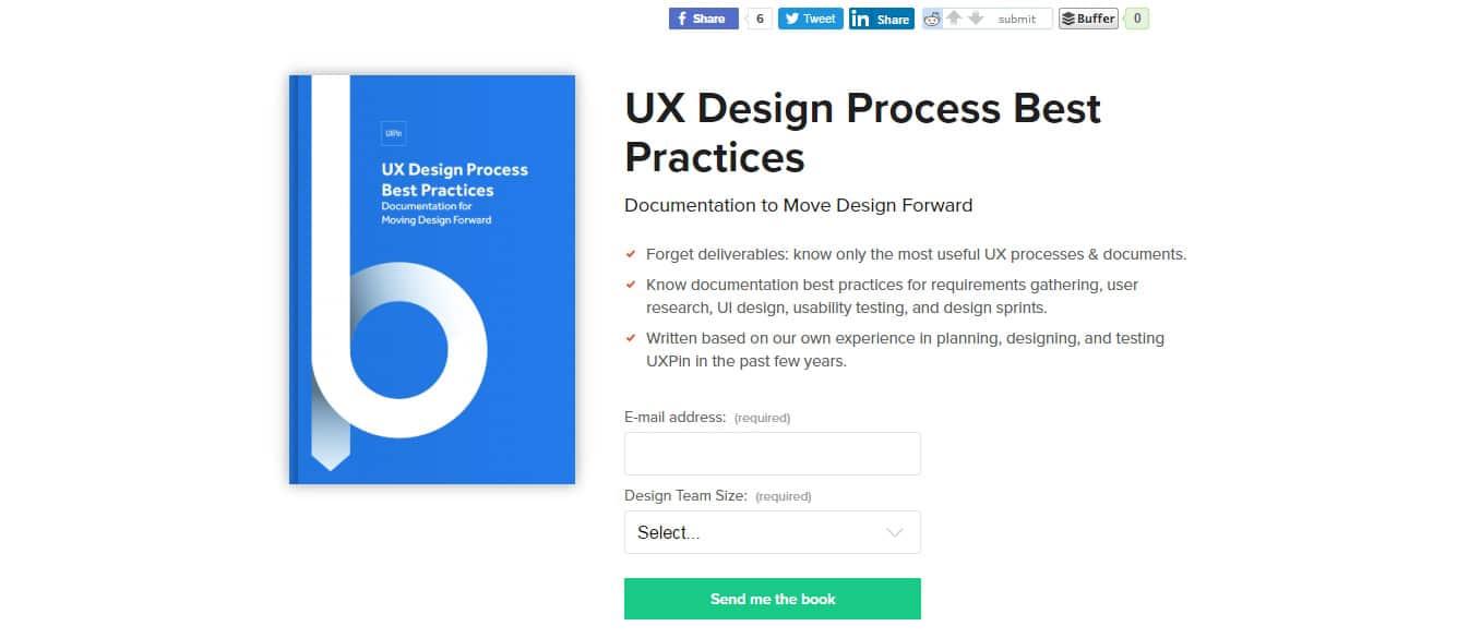UX Design Process Best Practices Free UX eBooks