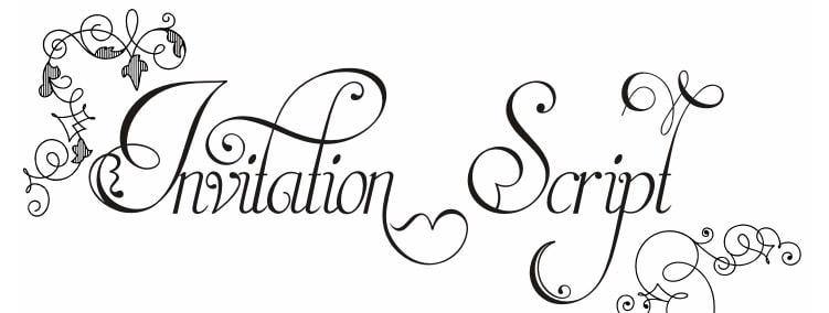 Invitation Script LIMITED FREE Font