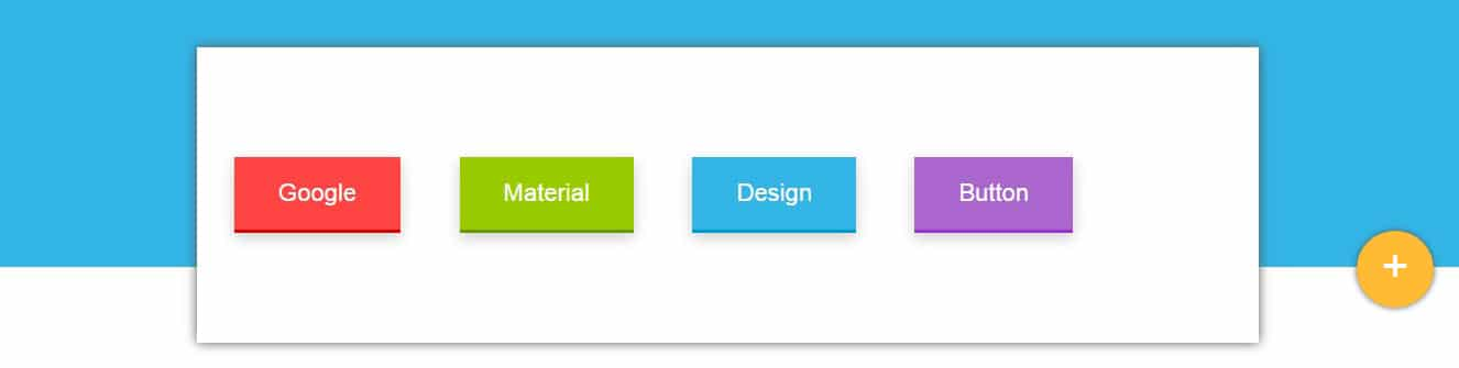 Google Material Design Buttons
