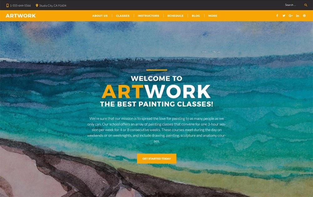 30+ Creative WordPress Themes for Art, Fashion, Photography ...
