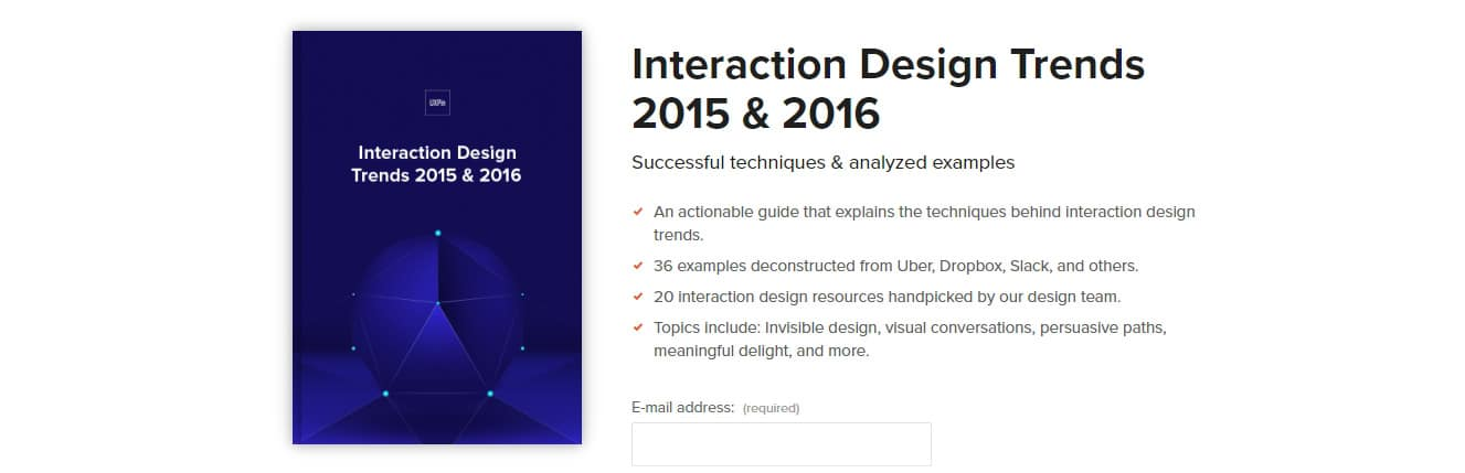 Interaction Design Trends 2016