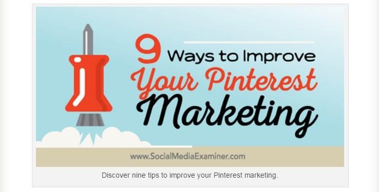 9 Ways to Improve Your Pinterest Marketing