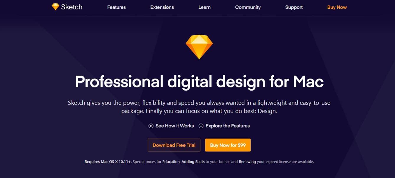 Sketch - Professional Digital Software