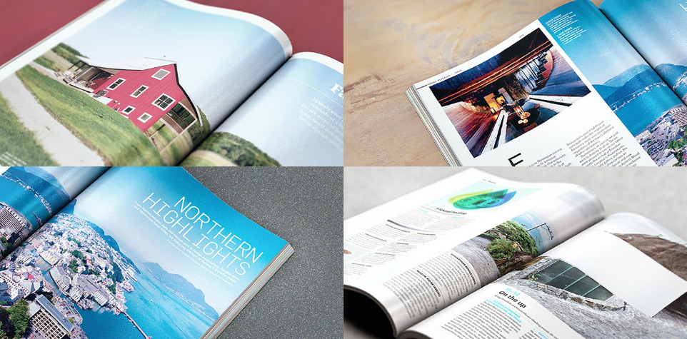Magazine Mockup Pack 7 close up scenes