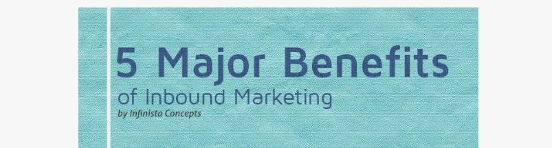 Five Major Advantages of Inbound Marketing [Infographic]