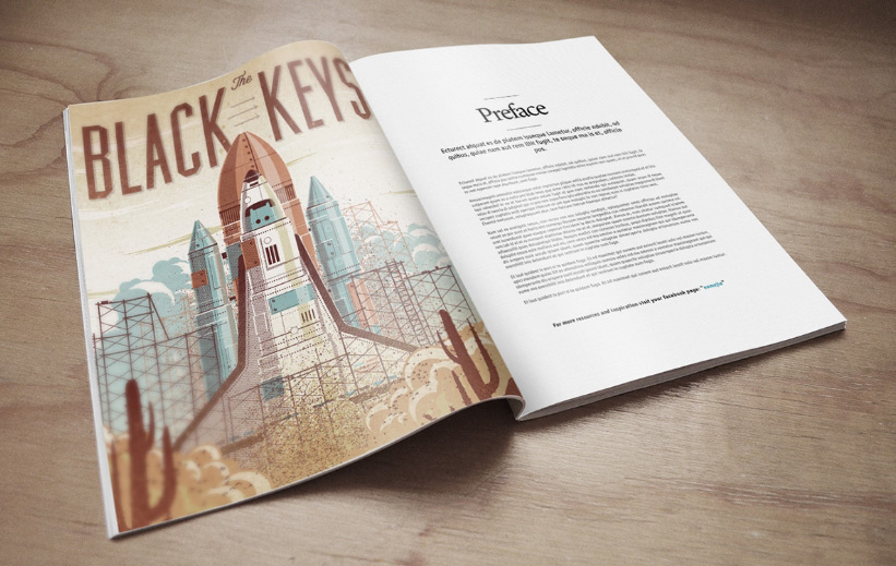 Magazine Mock-Up PSD Freebie