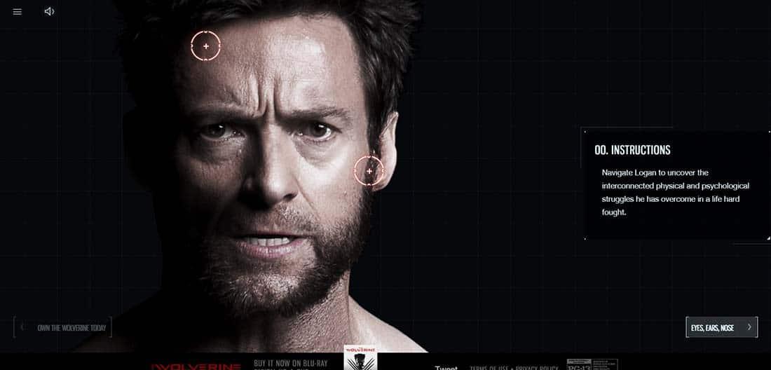 The Wolverine Navigation Menus