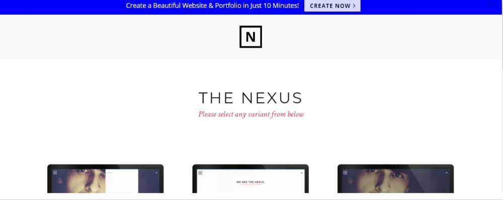 Nexus MultiLayout Theme