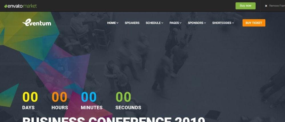 Eventum Conference WordPress Theme