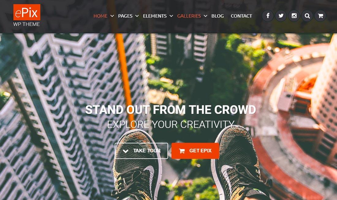 Acoda WordPress Photography Themes